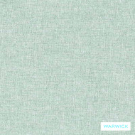 Warwick Oslo Sky  | Upholstery Fabric - Green, Plain, Synthetic, Washable, Commercial Use, Halo