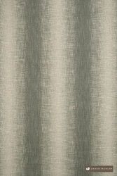 James Dunlop Maxime - Zinc  | Upholstery Fabric - Fire Retardant, Green, Eclectic, Natural fibre, Stripe, Domestic Use, Dry Clean, Natural