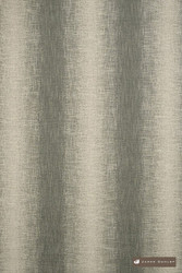 James Dunlop Maxime - Zinc  | Upholstery Fabric - Fire Retardant, Eclectic, Natural Fibre, Stripe, Domestic Use, Dry Clean, Natural, Standard Width