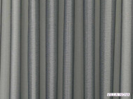 Vin_V3177/01 'Silver' | Curtain & Curtain lining fabric - Blue, Grey, Plain, Synthetic fibre, Washable, Domestic Use