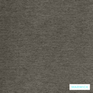 Warwick Prague Mink  | Curtain & Upholstery fabric - Grey, Plain, Synthetic, Tan, Taupe, Transitional, Washable, Commercial Use, Halo