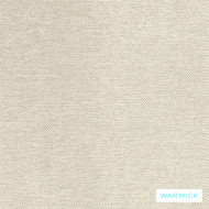 Warwick Prague Snow  | Curtain & Upholstery fabric - Beige, Plain, White, Synthetic, Washable, Commercial Use, Halo, Natural, White, Standard Width