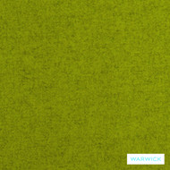 Turmeric' | Curtain & Upholstery fabric - Green, Plain, Fiber blend, Washable, Commercial Use