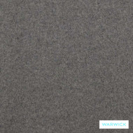 Warwick Richmond Augustus Wolf  | Curtain & Upholstery fabric - Grey, Plain, Fiber blend, Transitional, Washable, Commercial Use