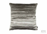 Zinc Textile - Penthouse Cushion - Mercury  | - Blue, Grey, Plain, Velvet, Cushion-Covers, Domestic Use