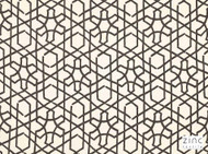 Zit_Z471/03 'Carbon' | Curtain Fabric - Black, Grey, Contemporary, Geometric, Linen and Linen Look, Mediterranean, Natural fibre, Black - Charcoal, Abstract, Domestic Use