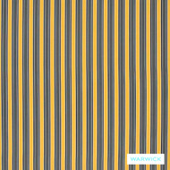 Warwick Seychelles Sunshine  | Curtain & Upholstery fabric - Gold - Yellow, Eclectic, Outdoor Use, Stripe, Synthetic fibre, Traditional, Washable, Domestic Use, Halo