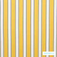 Sunshine' | Curtain & Upholstery fabric - Gold - Yellow, Eclectic, Outdoor Use, Stripe, Synthetic fibre, Traditional, Washable, Domestic Use, Halo