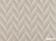 Kirkby Design - Apex Natural  | Upholstery Fabric - Grey, White, Contemporary, Fiber blend, Chenille, Chevron, Zig Zag, Domestic Use, Herringbone, White