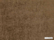 Kirkby Design - Ion Elmwood  | Curtain & Upholstery fabric - Brown, Plain, Synthetic, Velvet/Faux Velvet, Washable, Commercial Use, Domestic Use, Textured Weave
