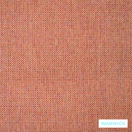 Warwick Simbra Lindeman Flame  | Upholstery Fabric - Plain, Synthetic, Washable, Commercial Use, Domestic Use, Halo