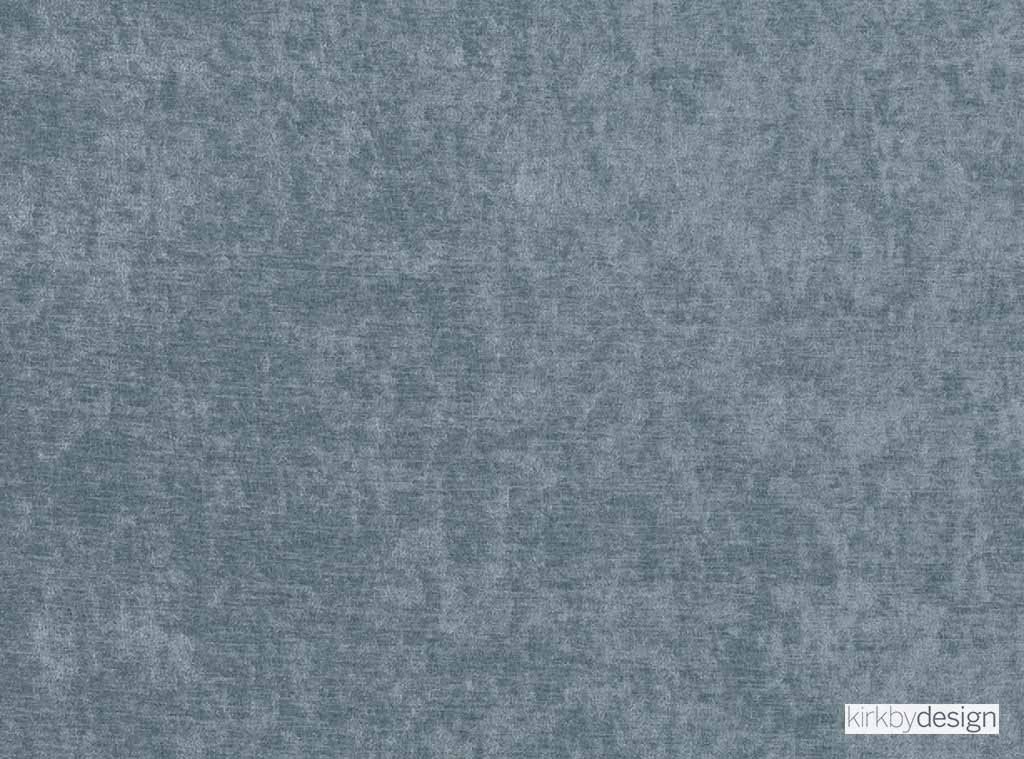 Kirkby Design - Ion Smoke Blue | Upholstery & Curtain Fabric