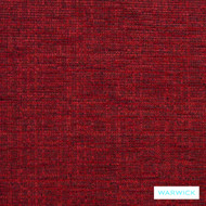 Warwick Tangent Rover Garnet  | Upholstery Fabric - Plain, Red, Synthetic, Washable, Commercial Use, Domestic Use, Halo, Standard Width