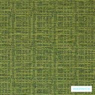 Warwick Tangent Rover Leaf  | Upholstery Fabric - Green, Plain, Synthetic, Washable, Commercial Use, Domestic Use, Halo