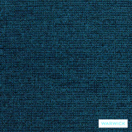 Warwick Tangent Rover Ocean  | Upholstery Fabric - Blue, Plain, Synthetic, Washable, Commercial Use, Domestic Use, Halo