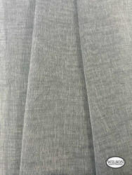 Wilson - Sabre - Charcoal  | Upholstery Fabric - Grey, Plain, Synthetic, Domestic Use, Textured Weave, Plain - Textured Weave, Weighted Hem, Wide Width