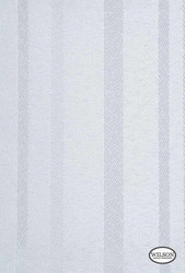 Wilson - Santiago - Eggshell  | Curtain & Upholstery fabric - Grey, Fibre Blends, Stripe, Domestic Use, Standard Width