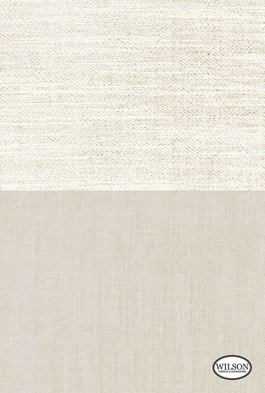 Wilson - Tulum - Stone Plain  | Curtain Fabric - Beige, Plain, Fiber blend