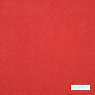 Warwick - Macrosuede Hg Flame^  | Upholstery Fabric - Plain, Red, Commercial Use, Railroaded, Standard Width