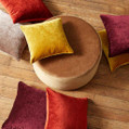 The very smart  upholstery fabrics from the Victory design style range by Warwick