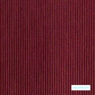 Warwick - Rave Scarlet^  | Upholstery Fabric - Burgundy, Plain, Red, Commercial Use, Textured Weave, Plisse, Plain - Textured Weave, Railroaded, Standard Width