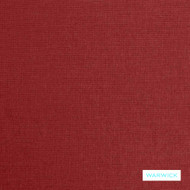Warwick - Zante Berry  | Curtain Fabric - Plain, Red, Washable, Domestic Use, Railroaded, Standard Width