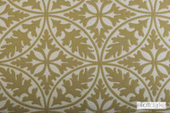 Elliott Clarke - Daylesford - Leaf    Curtain & Upholstery fabric - Gold,  Yellow, Damask, Geometric, Paisley, Pattern, Synthetic, Tan, Taupe, Domestic Use