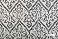 Elliott Clarke - Haven - Salt & Pepper    Curtain & Upholstery fabric - Black - Charcoal, Damask, Floral, Garden, Outdoor Use, Synthetic, Domestic Use