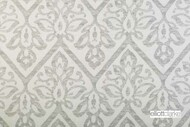 Elliott Clarke - Haven - Silver    Curtain & Upholstery fabric - Silver, Damask, Floral, Garden, Outdoor Use, Synthetic, Domestic Use