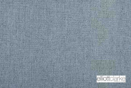 Elliott Clarke - McQueen - Wedgewood  | Upholstery Fabric - Blue, Plain, Fibre Blends, Domestic Use, Dry Clean, Textured Weave, Plain - Textured Weave, Standard Width