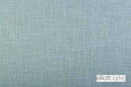 Elliott Clarke - Umbria - Sky  | Upholstery Fabric - Blue, Plain, Fibre Blends, Domestic Use, Dry Clean, Textured Weave, Plain - Textured Weave, Standard Width, Strie