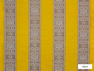 Ardecora - Duomo - 15376.183  | Curtain Fabric - Gold,  Yellow, Fibre Blends, Stripe, Traditional, Domestic Use, Standard Width