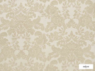 Ardecora - Nostalgia - 15350.894  | Curtain Fabric - Beige, Floral, Garden, Synthetic, Domestic Use, Railroaded, Wide Width