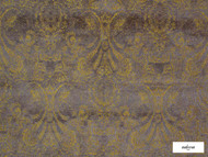Ardecora - Novecento - 15383.183  | Upholstery Fabric - Brown, Damask, Fibre Blends, Floral, Garden, Domestic Use, Standard Width
