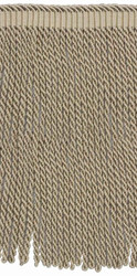 Houles - 36027 Valmont Bullion Fringe 21mm - 9820  | Fringe, Curtain & Upholstery Trim - Beige, Brown, Deco, Decorative, Fibre Blends, Washable, Domestic Use
