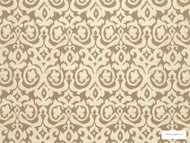 Hodsoll McKenzie - Fleming Damask - 21125.886  | Curtain Fabric - Brown, Damask, Fibre Blends, Traditional, Domestic Use, Standard Width, Rococo