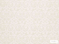 Hodsoll McKenzie - Fleming Damask - 21125.991  | Curtain Fabric - White, Damask, Fibre Blends, Domestic Use, White, Standard Width