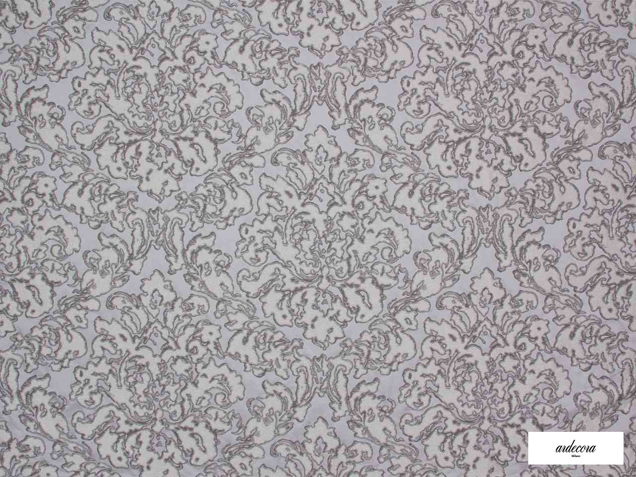 Ardecora - Foro - 15382.993  | Curtain Fabric - Brown, Damask, Fibre Blends, Domestic Use, Standard Width