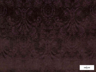Ardecora - Novecento - 15383.487  | Upholstery Fabric - Burgundy, Damask, Fibre Blends, Traditional, Domestic Use, Standard Width, Rococo
