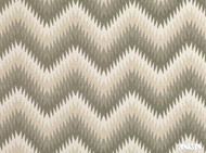 Romo - Nesma Soapstone  | Curtain & Upholstery fabric - Grey, Deco, Decorative, Fibre Blends, Tan, Taupe, Chevron, Zig Zag, Commercial Use, Decorative Weave, Dry Clean