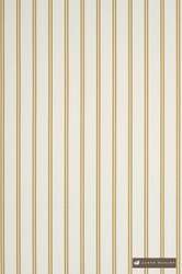 jd_10559-103 'Kowhai' | Curtain & Upholstery fabric - Gold - Yellow, White, Natural fibre, Stripe, Traditional, White, Domestic Use, Natural, Top of Bed