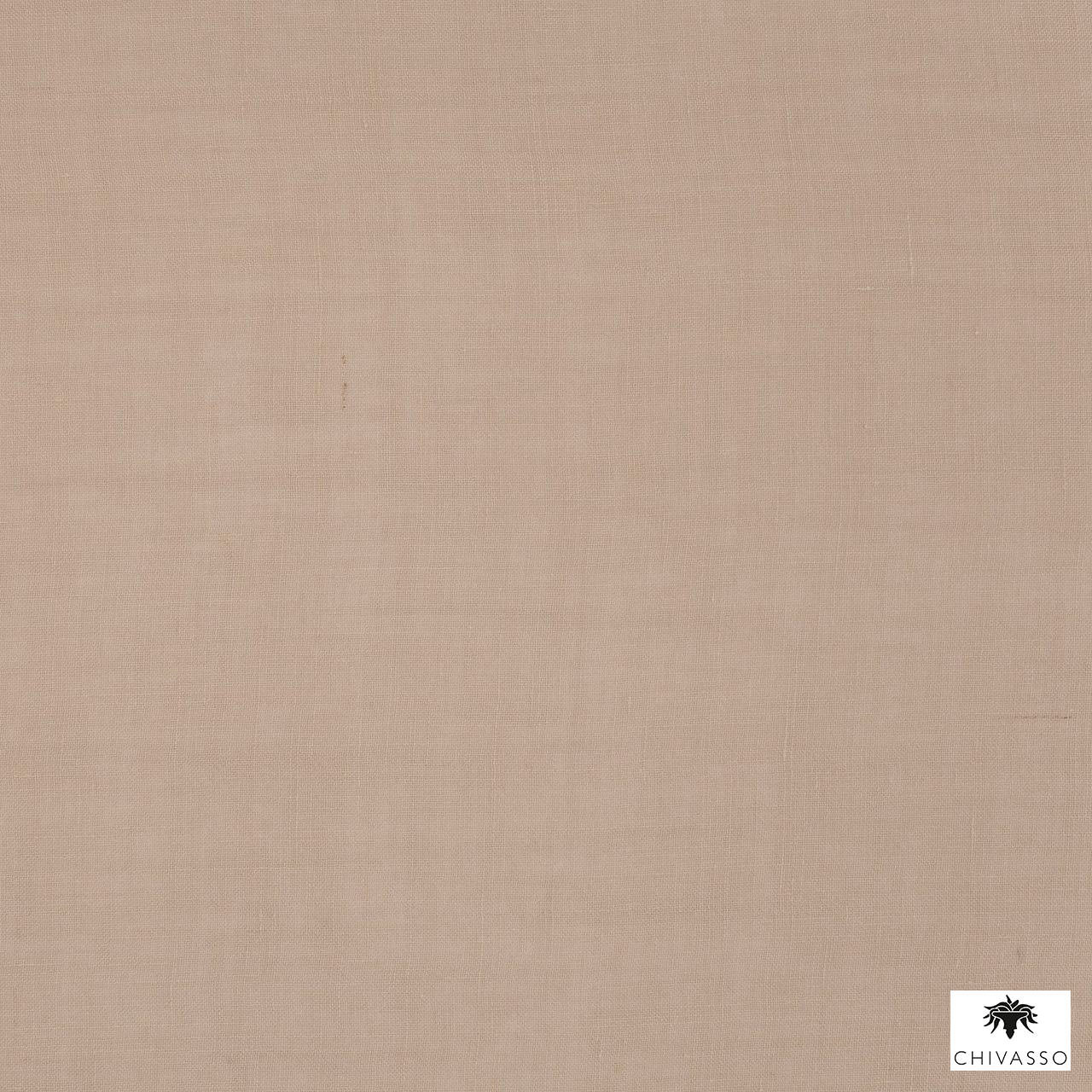 Chivasso - Target - Ch2743-072  | Curtain Fabric - Brown, Plain, Fibre Blends, Tan, Taupe, Domestic Use, Railroaded, Wide Width