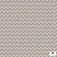 Chivasso - Vintage Groove - Ch2773-050  | Curtain Fabric - Brown, Fibre Blends, Tan, Taupe, Chevron, Zig Zag, Domestic Use, Railroaded, Wide Width