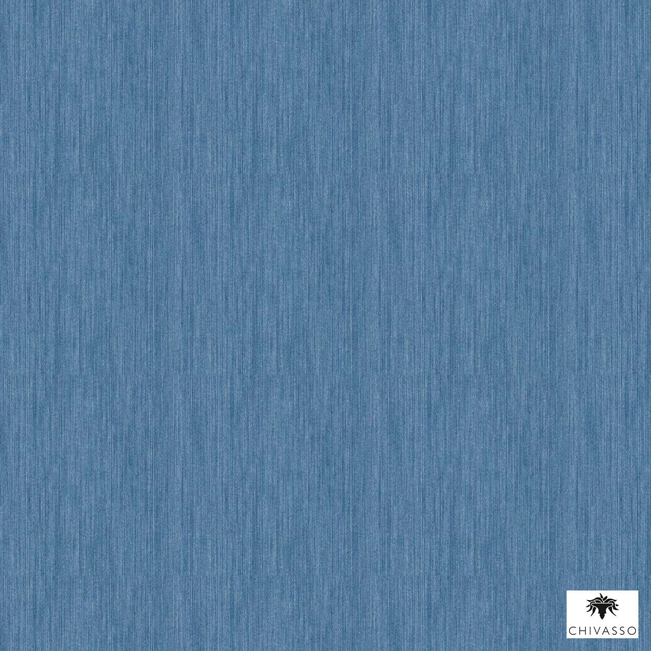 Chivasso - Colour Block - Ch9112-052  | Wallpaper, Wallcovering - Blue, Plain, Domestic Use