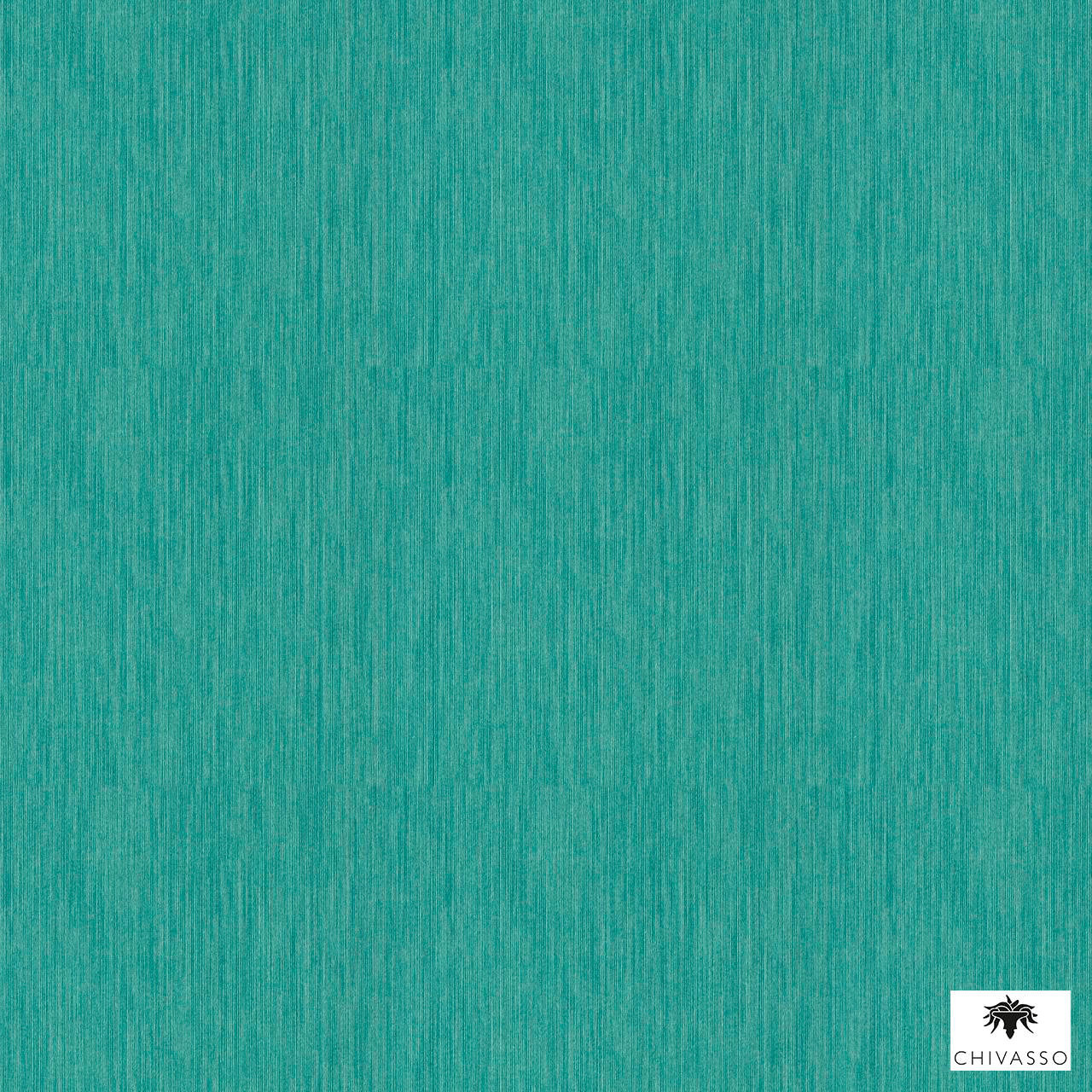 Chivasso - Colour Block - Ch9112-083  | Wallpaper, Wallcovering - Plain, Turquoise, Teal, Domestic Use