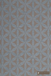 James Dunlop Tapa - Mineral  | Upholstery Fabric - Brown, Fire Retardant, Grey, Diaper, Geometric, Midcentury, Natural Fibre, Washable, Commercial Use, Dry Clean, Natural