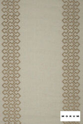 mok_11272-819 'Jute' | Curtain Sheer Fabric - Geometric, Linen and Linen Look, Natural fibre, Pattern, Domestic Use, Natural