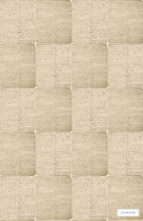 LINW790 'View' | - Midcentury, Pattern, Tan - Taupe, Domestic Use