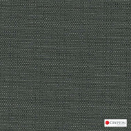 Crypton Savanna Black  | Upholstery Fabric - Plain, Black - Charcoal, Synthetic, Commercial Use, Standard Width