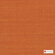Crypton Savanna Tangerine  | Upholstery Fabric - Plain, Synthetic, Commercial Use